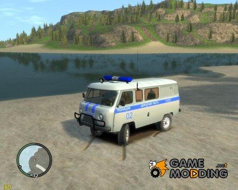 УАЗ-39099 для GTA 4
