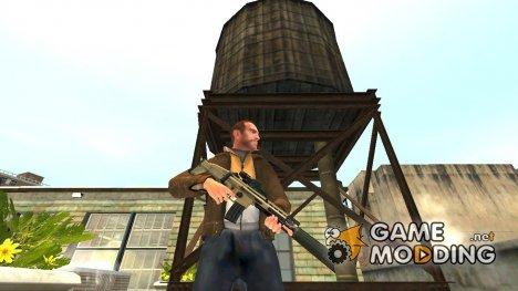 Штурмовая винтовка FN SCAR v.2 для GTA 4