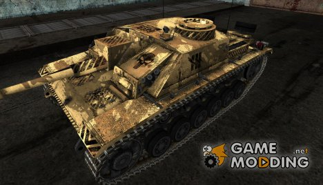 Шкурка для StuG III для World of Tanks