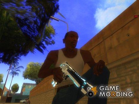 Deagle Fulmicotone для GTA San Andreas
