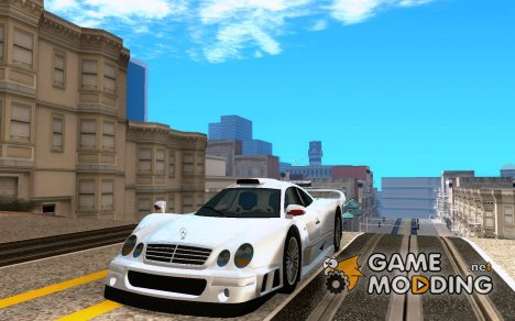 Mercedes-Benz CLK GTR road version для GTA San Andreas