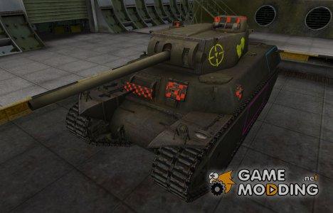 Контурные зоны пробития T1 Heavy для World of Tanks