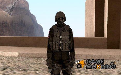 Новый скин спецназа для GTA San Andreas