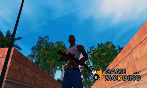 АК-74 Sight Silenced для GTA San Andreas