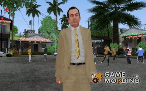 Eddie Scarpa из Mafia 2 для GTA San Andreas