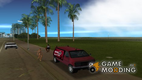 GTA IV Gangbur for GTA Vice City
