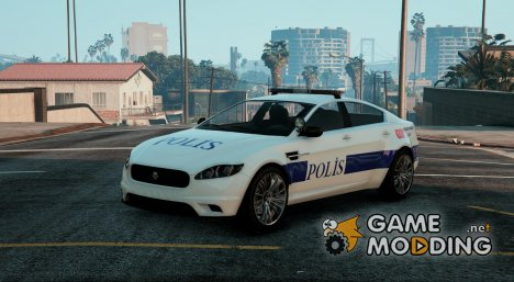 Turkish Police Car для GTA 5