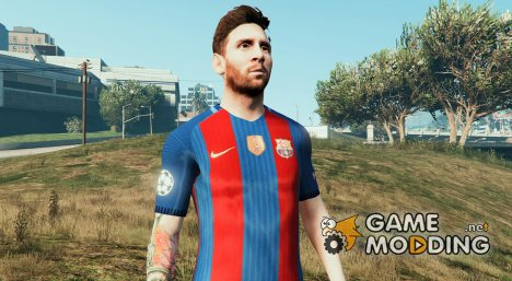Lionel Messi for GTA 5