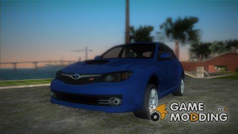 Subaru Imperza WRX STI 2009 для GTA Vice City