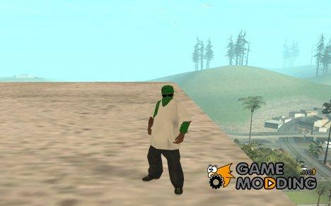 Green Gangsta for GTA San Andreas