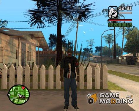 Футболка Hitman for GTA San Andreas