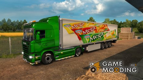 Mod Ice Cream v.2.0 for Euro Truck Simulator 2
