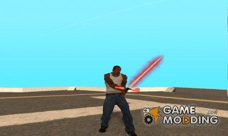 Световой меч Кайло Рена для GTA San Andreas
