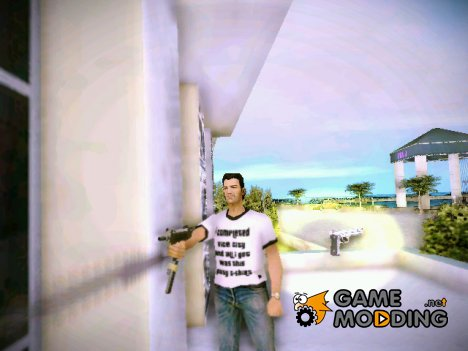 Узи из San Andreas for GTA Vice City