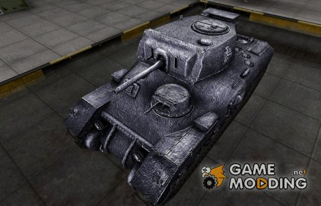 Темный скин для Ram-II для World of Tanks