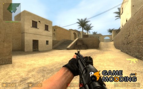 Twinke Masta's & Geno's MP5 для Counter-Strike Source