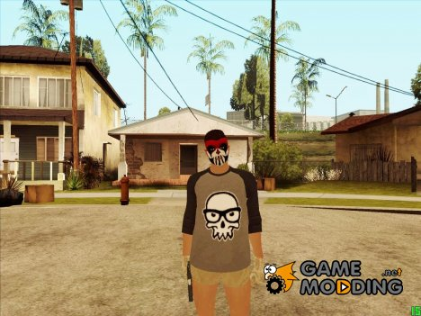Парень в гримме HD из GTA Online for GTA San Andreas