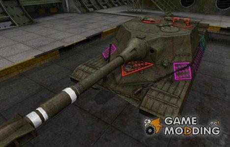Качественные зоны пробития для Объект 268 for World of Tanks