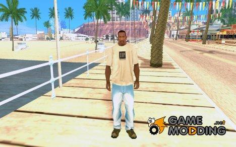 Светло-голубые джинсы for GTA San Andreas