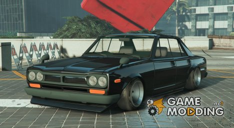 Nissan Skyline 2000GT 0.3 for GTA 5