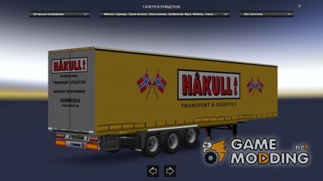 International Krone Trailers Pack for Euro Truck Simulator 2