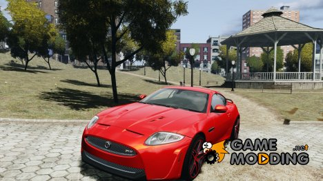 Jaguar XKR-S Trinity Edition 2012 v1.1 for GTA 4