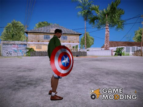 Shield Captain America для GTA San Andreas