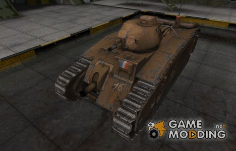 Исторический камуфляж B1 для World of Tanks