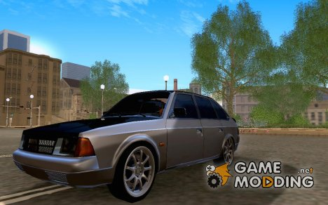 AZLK 2141 Black Tuning для GTA San Andreas