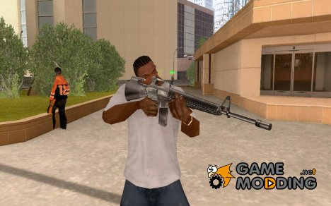 Штурмовая винтовка М-16 для GTA San Andreas