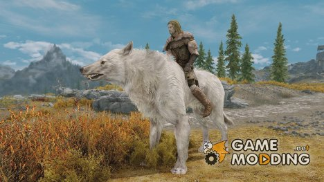 Feralis - Dire Wolf Mount for TES V Skyrim