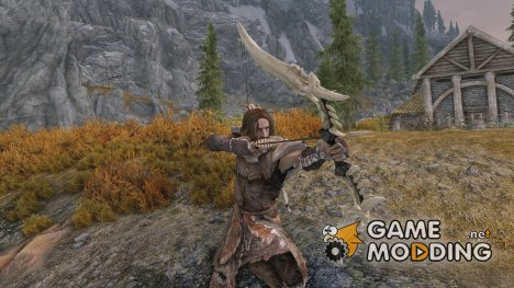 Ghosu - Horker Bow and Crossbow для TES V Skyrim