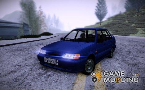ВАЗ 2115 Stock для GTA San Andreas