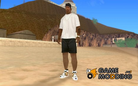 G-unit -Airbrush Shoes for GTA San Andreas