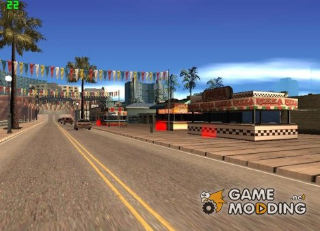 Food fix mod v 1.0 для GTA San Andreas