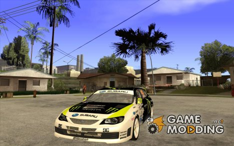 Subaru Impreza WRX Gymkhana2 Beta for GTA San Andreas
