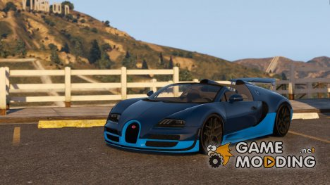 Bugatti Veyron Grand sport Vitesse for GTA 5