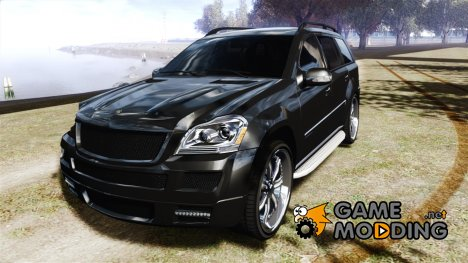 Mercedes-Benz GL450 Brabus Black Edition для GTA 4