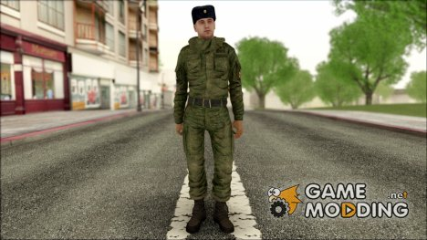 Старший Сержант МВД в зимней форме для GTA San Andreas