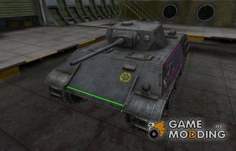 Контурные зоны пробития VK 28.01 for World of Tanks
