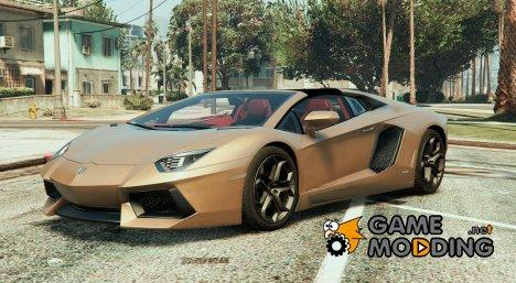 Lamborghini Aventador Roadster 1.0 for GTA 5