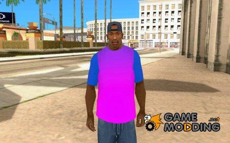 Яркая футболка для GTA San Andreas