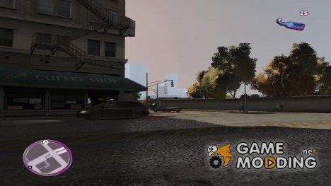 VC Style Radar/HUD (скин 3) для GTA 4