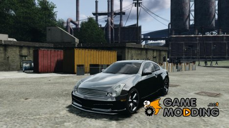 Nissan Skyline Coupe 350GT для GTA 4