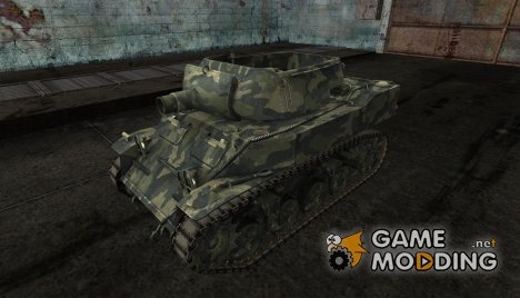 Шкурка для M8A1 for World of Tanks