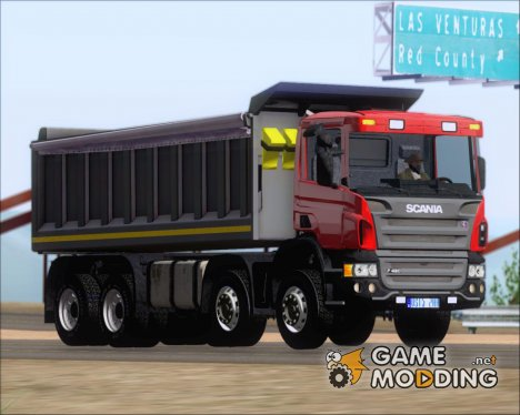 Scania P420 8x4 Dumper for GTA San Andreas