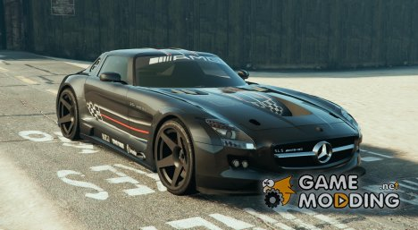 Mercedes AMG SLS GT3 for GTA 5