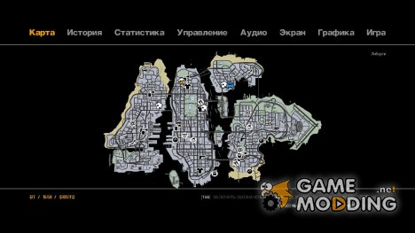 Liberty City Map V Style for GTA 4
