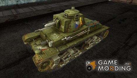 Шкурка для PzKpfw 35(t) для World of Tanks