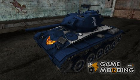 Шкурка для M24 Chaffee (Вархаммер) for World of Tanks